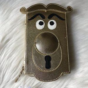 Disney Alice in Wonderland Zip wallet Card Holder